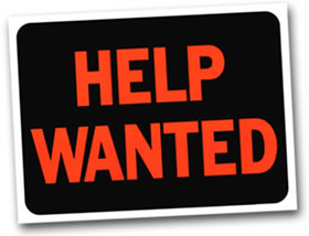 Black Owned Businesses Help W - Help Wanted Clipart