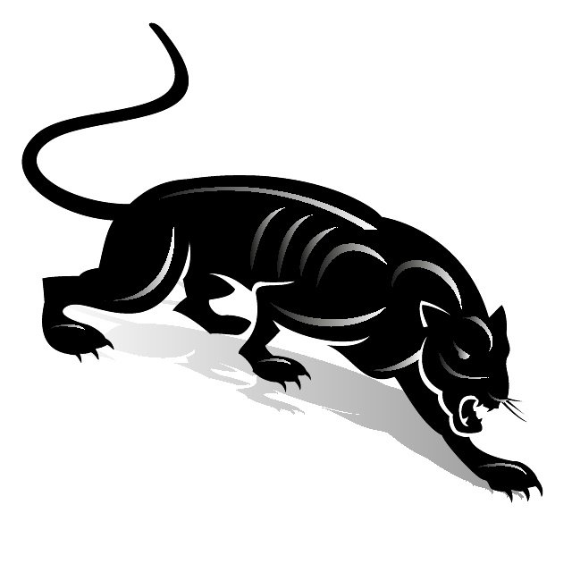 Black Panther Clip Art Free Vector-Black Panther Clip Art Free Vector-15