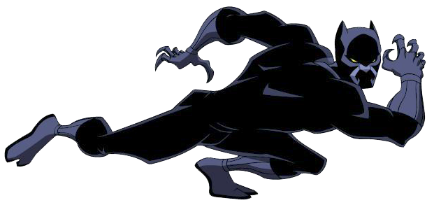 Black Panther Clipart-Clipartlook.com-621