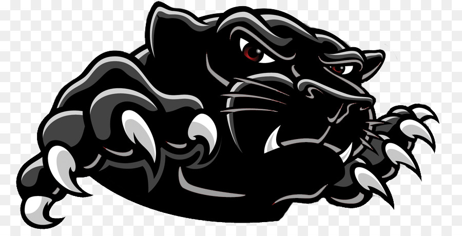 Black panther Clip art - Black Panther Logo Transparent Background