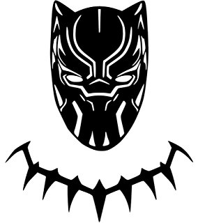 BLACK PANTHER NEW MOVIE Vinyl Sticker Decals for Car bumper window macbook  pro laptop iPad iPhone