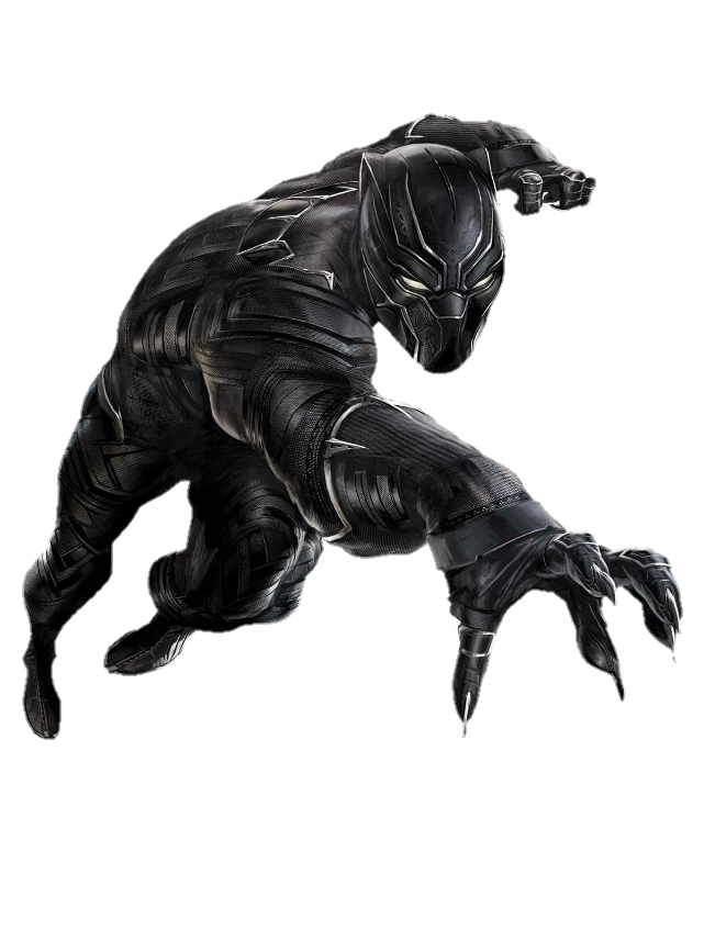 Black Panther Png Clipart PNG Image