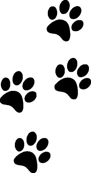 Black Paws Clip Art-Black Paws Clip Art-0