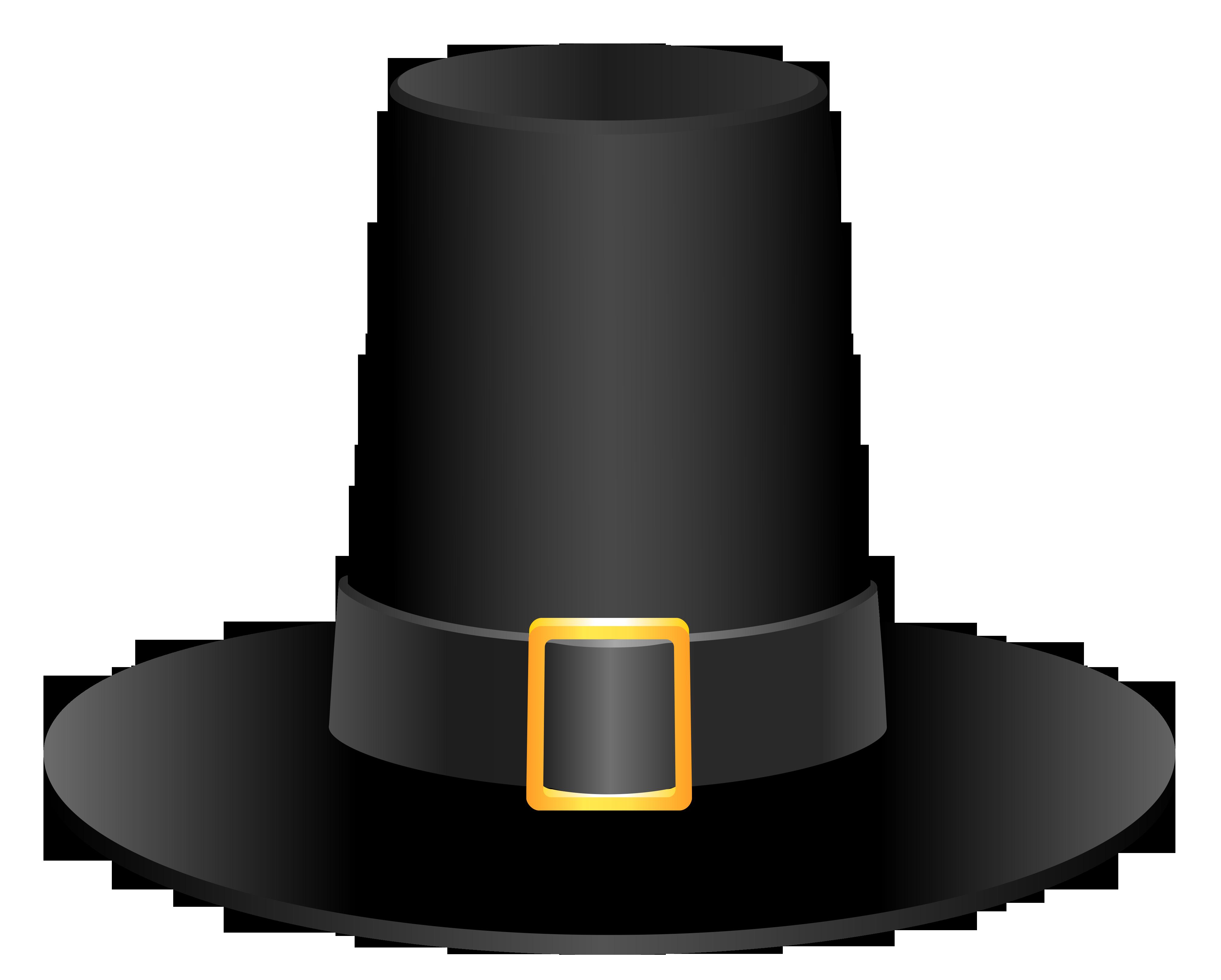 Black Pilgrim Hat Picture