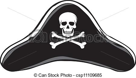 ... Black Pirate Hat (Pirateu0026#39;s .-... Black Pirate Hat (Pirateu0026#39;s ...-3