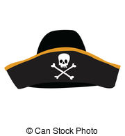 ... black pirate hat with skull and cros-... black pirate hat with skull and crossbones-12