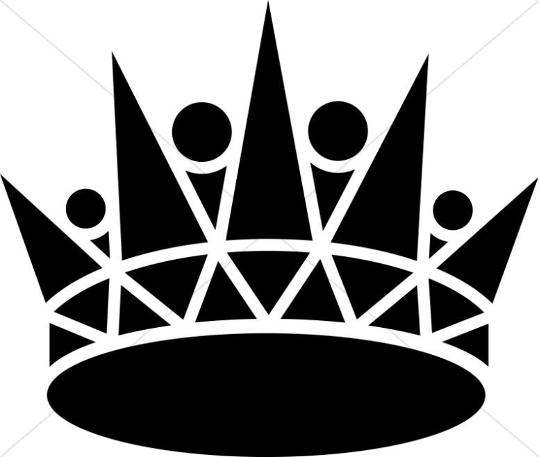 Black Pointed Crown-Black Pointed Crown-1