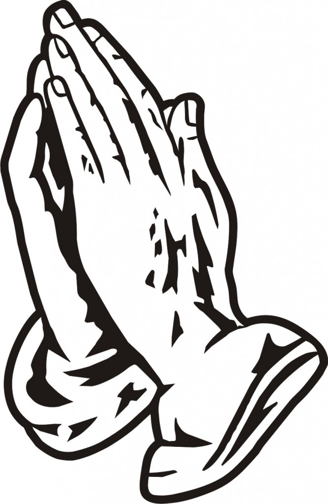 Black Praying Hands Clipart Free Clipart Images u0026middot; «