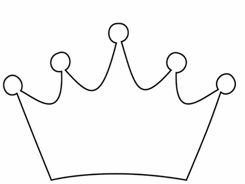 Black Princess Crown Clipart .-Black princess crown clipart .-0