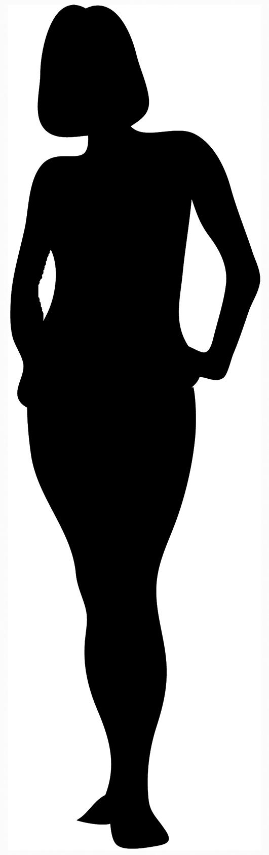 black silhouette of woman standing ...-black silhouette of woman standing ...-6