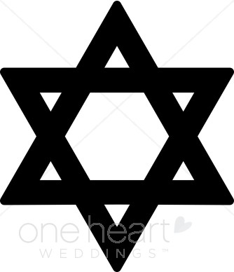 Black Star of David Clipart