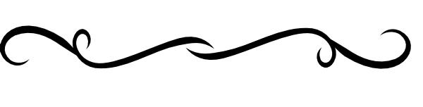 Black Swirl Divider Clip Art At Clker Com Vector Clip Art Online