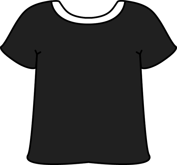 T Shirt Clipart Black And White