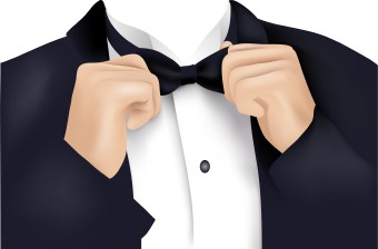 Black Tuxedo Clipart