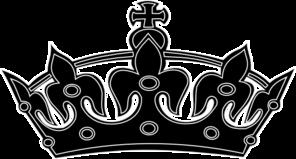 Black White Crown Clip Art-Black White Crown Clip Art-12