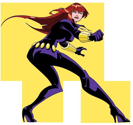 Black Widow Clipart