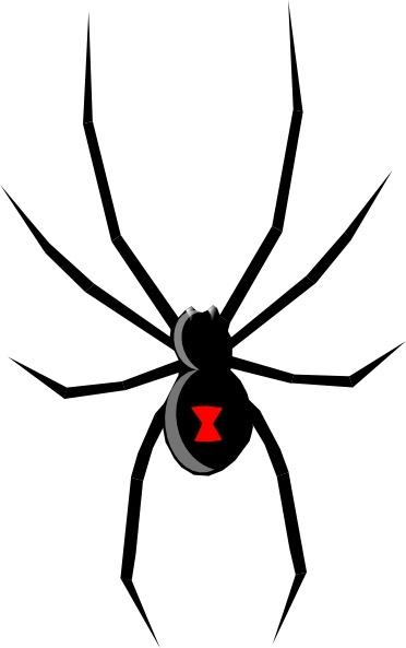Black Widow clip art