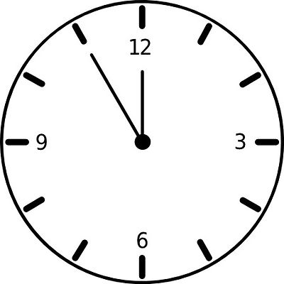 blank digital clock clipart