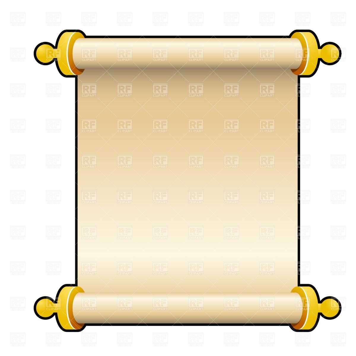 Blank Scroll Clip Art-blank scroll clip art-1