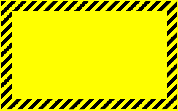 Blank Caution Sign Clip Art At Clker Com-Blank Caution Sign Clip Art At Clker Com Vector Clip Art Online-1