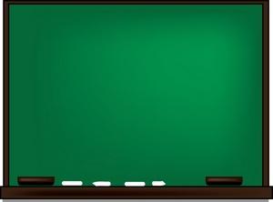Blank Chalkboard Clipart-Blank chalkboard clipart-6