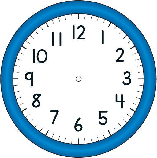 blank clock | BLANK_CLOCK.jpg - Blank Clock Clipart