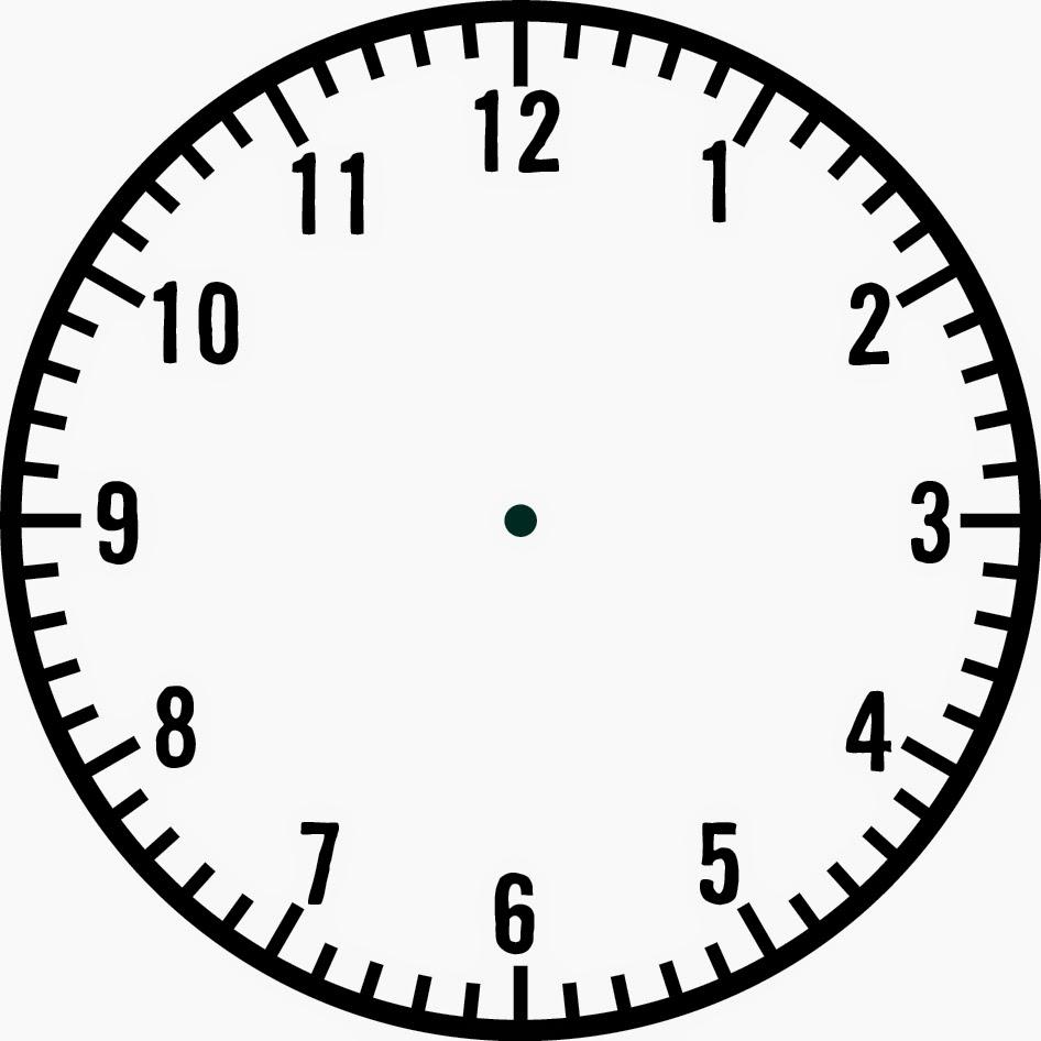 Blank Clock Clipart ...