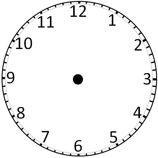Blank Clockface: Without Hands - ClipArt Best - ClipArt Best