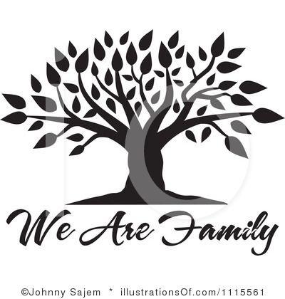 Blank Family Tree Clip Art | Family Tree-Blank Family Tree Clip Art | Family Tree Clipart #1115561 by Johnny Sajem | Royalty-2
