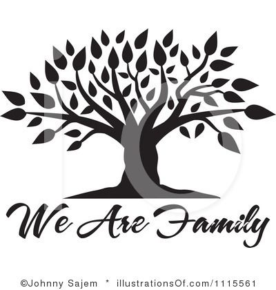 Blank Family Tree Clip Art | Family Tree Clipart #1115561 by Johnny Sajem | Royalty