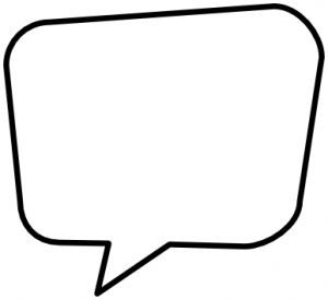 Blank Speech Bubble Clipart