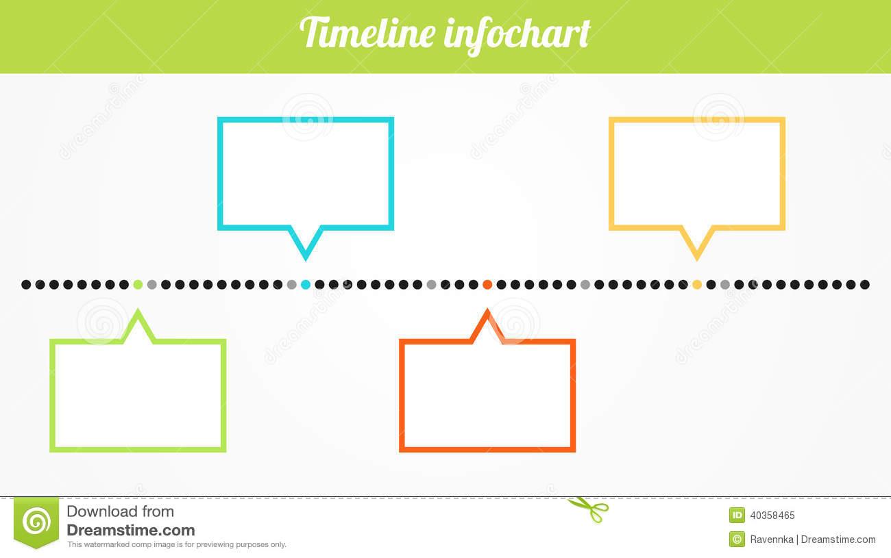 Blank Timeline Clipart. Timel - Timeline Clip Art