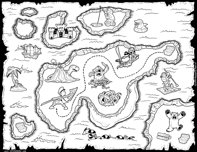 Blank Treasure Map Clipart .-Blank Treasure Map Clipart .-3