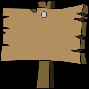 Blank Wood Sign Clip Art-Blank Wood Sign Clip Art-1