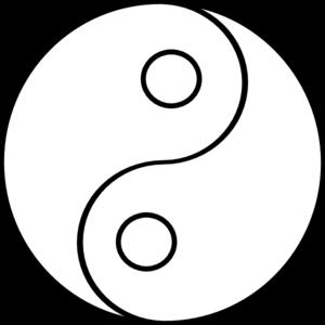 Blank Yin Yang Clip Art