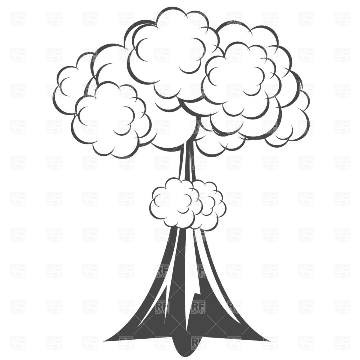 Mushroom Cloud Clip Art