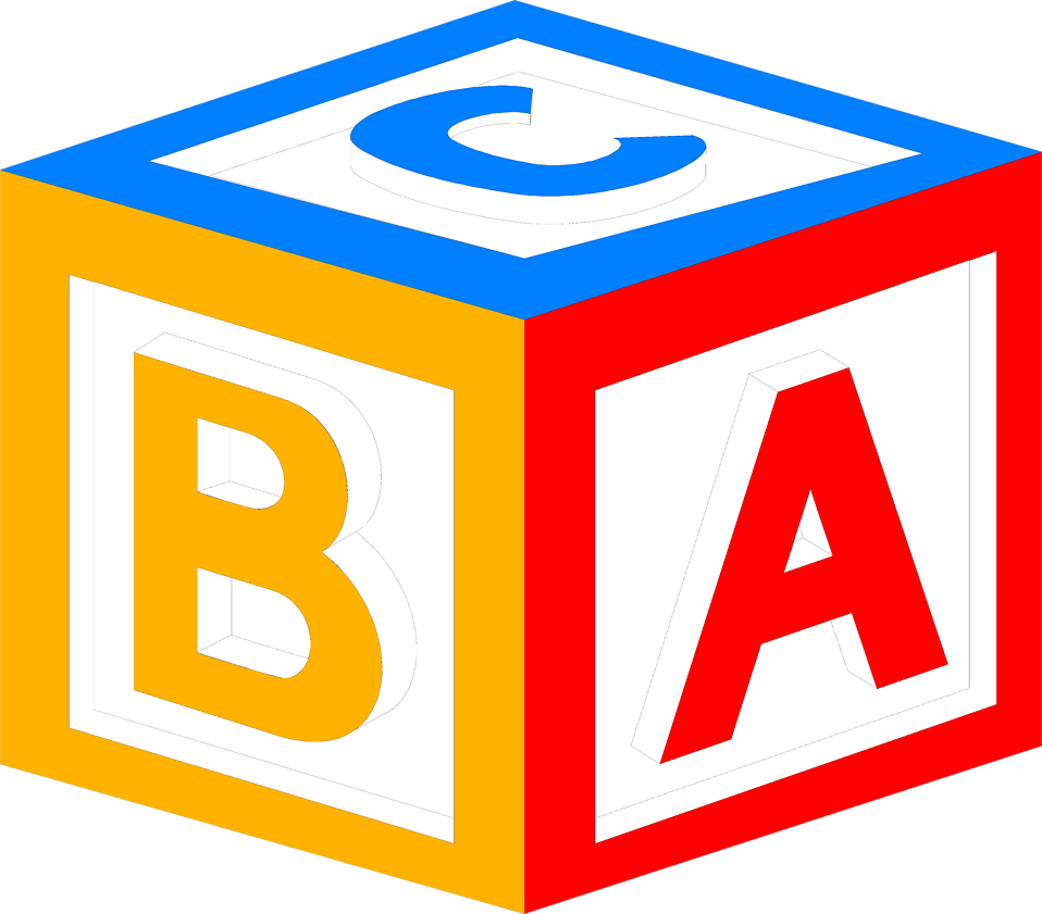 Block Toy Free Stock Photo Illustration Of A Block With Abc ...