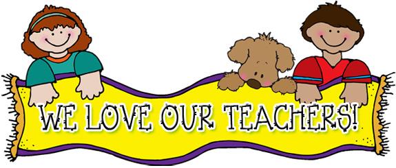 Blogging About Clip Art Fonts School Supplies Activities u0026middot; « More Teacher Appreciation ...