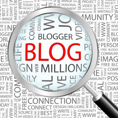 Blogging Clipart