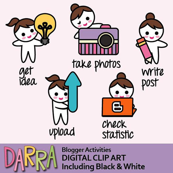Blogging Clipart-Clipartlook.com-570