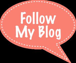 Follow My Blog Bubble Clip Art
