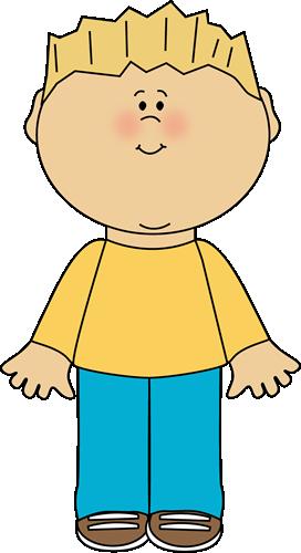 Blond Boy - Clipart Of Boy