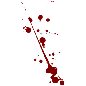 Blood Splatter clip art-Blood Splatter clip art-1