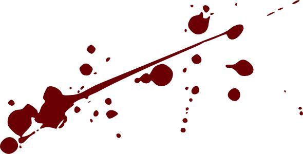 Blood Splatter Clip Art - Blood Splatter Clipart
