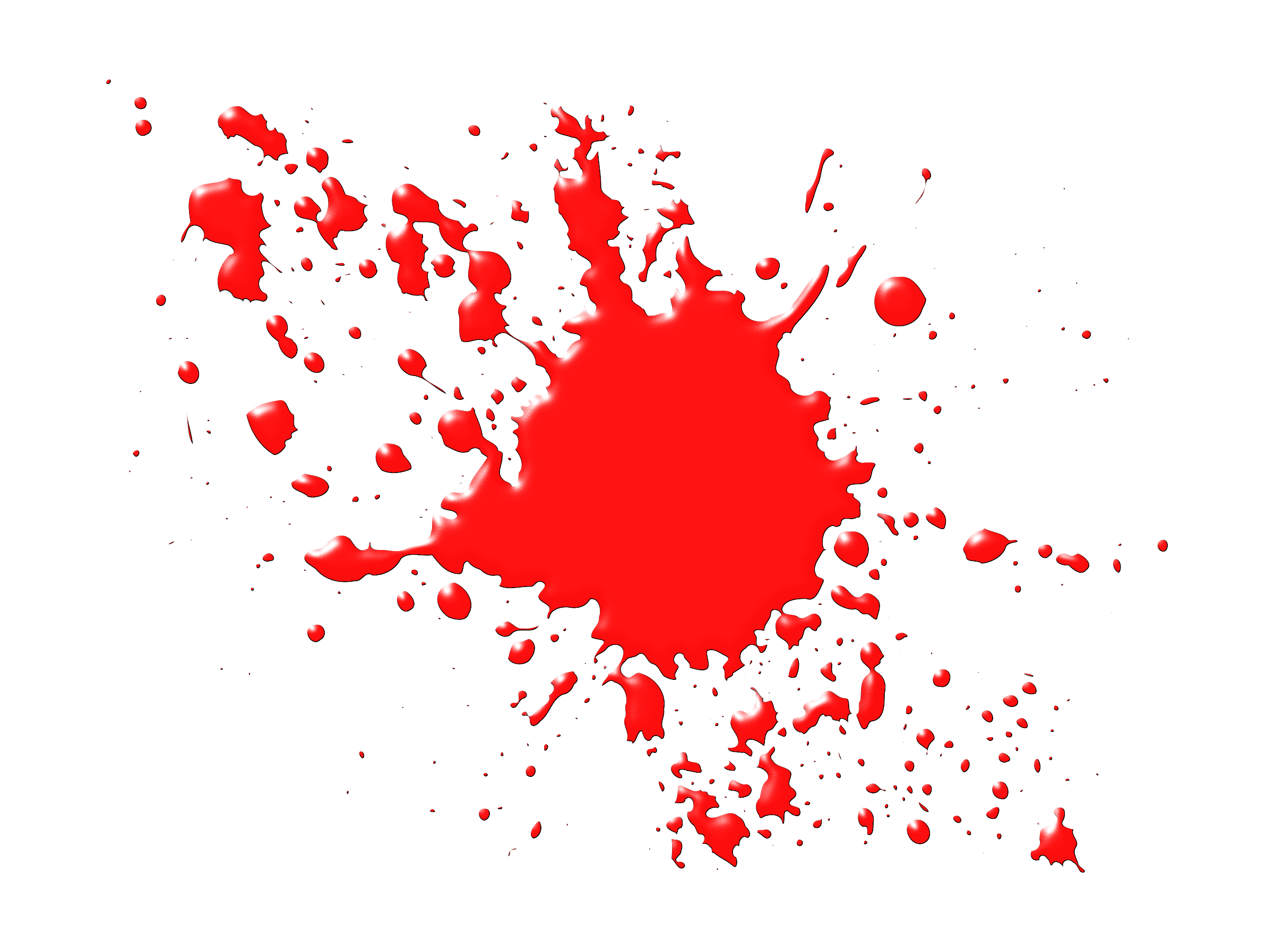 Blood Splatter Png Viewing Ga - Blood Splatter Clipart