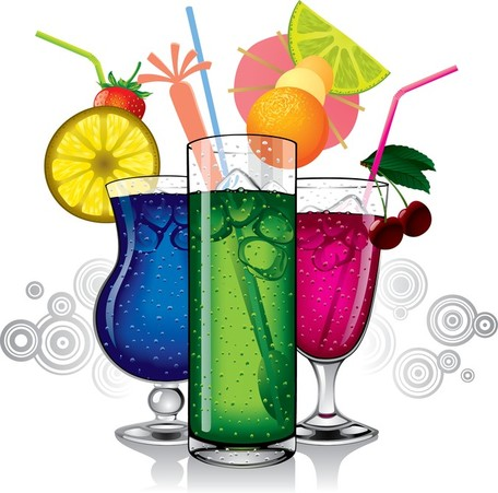 Cocktails Clipart