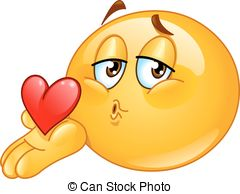 Blowing kiss male emoticon .-Blowing kiss male emoticon .-15
