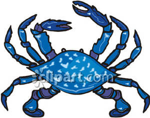 Blue Crab Clipart Black And White-blue crab clipart black and white-3