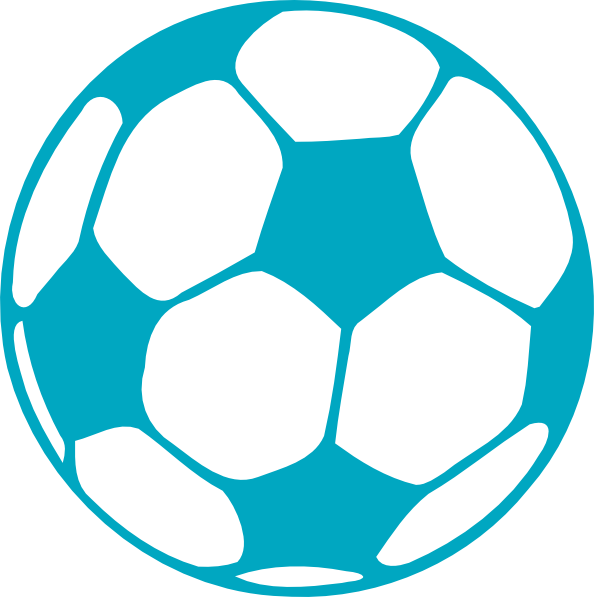 Blue Soccer Ball Clipart-blue soccer ball clipart-9