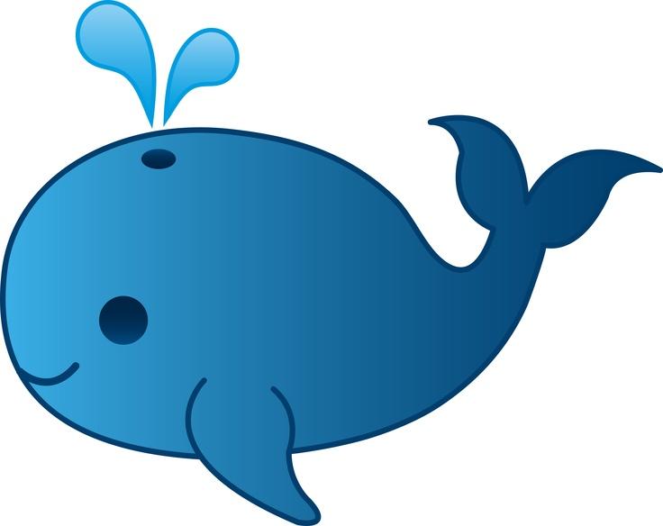 blue whale clip art-blue whale clip art-1